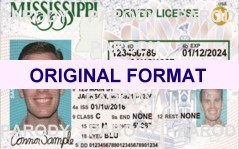 mississippi fake id scannable with holograms
